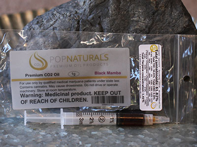 Black Mamba Marijuana Oil
