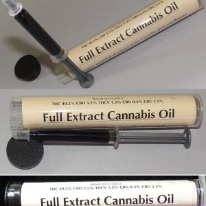 High CBD CO2 Extracted Cannabis Oil