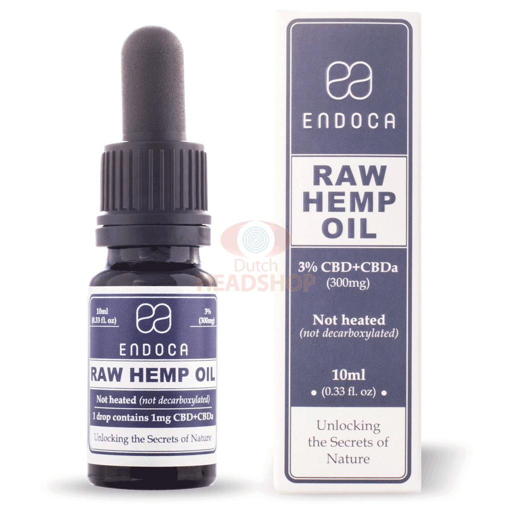 CBD Oil Raw (Endoca) 3% 300mg 10ml