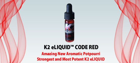 K2 eliquid CODE RED 5 ml Online USA - Cannabis Buddy Dispensary