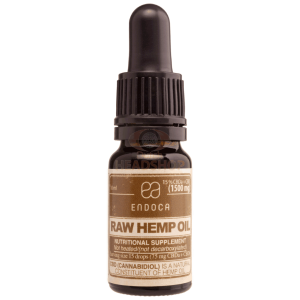 CBD Oil Raw (Endoca) 15% ~1500mg 10ml