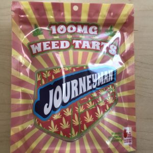 Journeyman Weedtarts - 100mg 10 pack