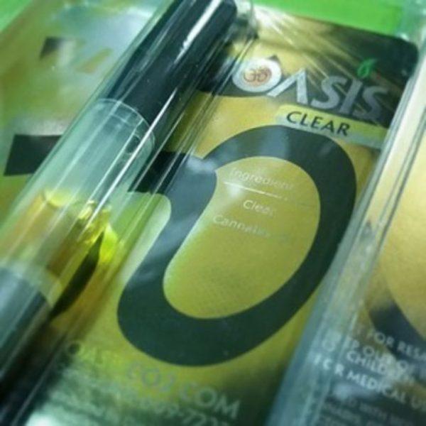 Oasis Clear CO2 Cartridge Jack Herer