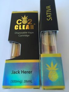 Sativa Jack Herer CO2 Cartridges