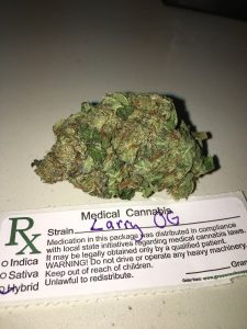 Larry OG Marijuana Strain