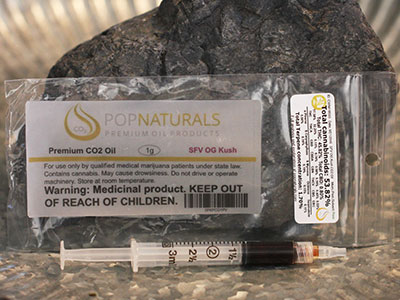 SFV OG marijuana Oil