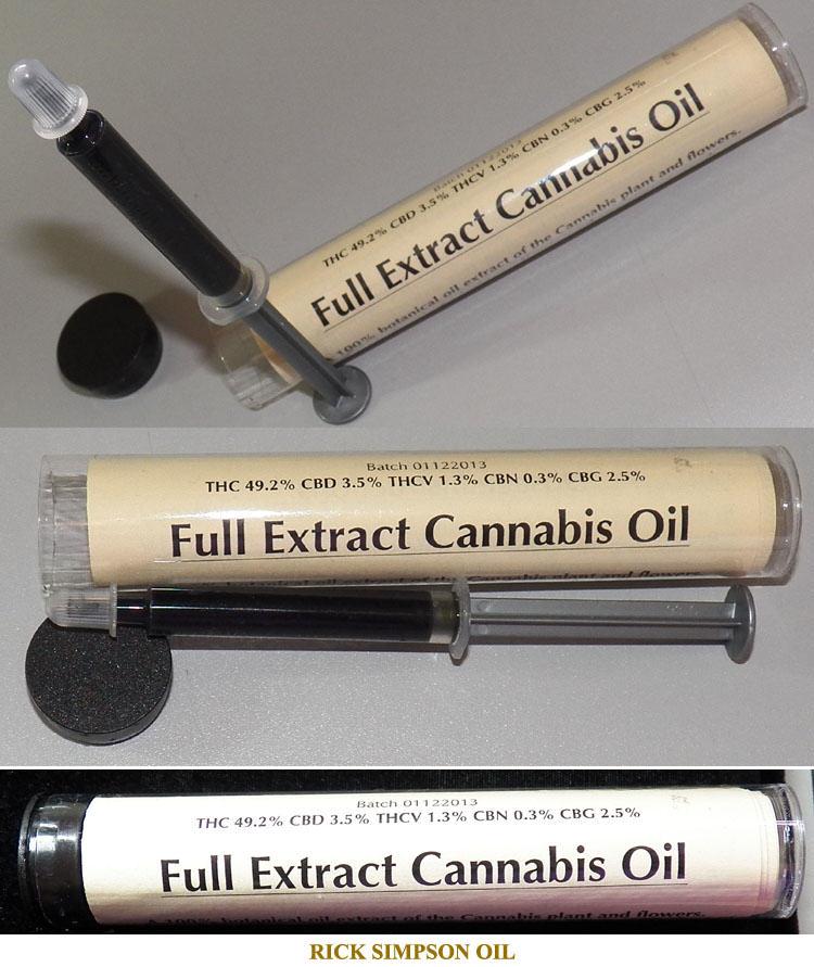 RSO Rick Simpson Marijuana Oil