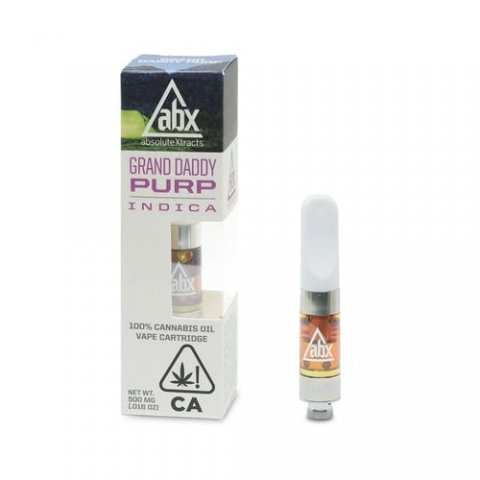 ABX Grand Daddy Purp Vape Cartridge
