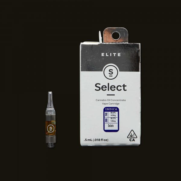 Select Oil Gelato Elite Cartridge